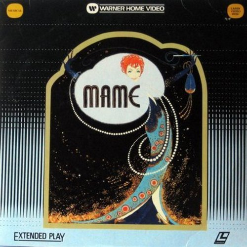 Mame - Mame - Laser Disc version of the Musical starring Lucille Ball  (This is a set of 2 LASER DISCS, NOT ANY OTHER KIND OF MEDIA!) - NM9/EX8 - Laser Discs