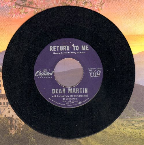 Martin, Dean - Return To Me/Forgetting You - VG7/ - 45 rpm Records