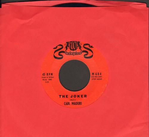 Maduri, Carl - A Miracle/The Joker - EX8/ - 45 rpm Records