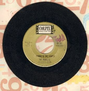 Marcels - I Wanna Be The Leader (RARE answer to -Mr. Bass Man-)/Give Me Back Your Love - VG7/ - 45 rpm Records