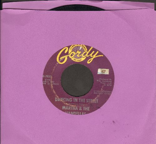 Martha & The Vandellas - Dancing In The Street/There He Is (At My Door)  - VG7/ - 45 rpm Records
