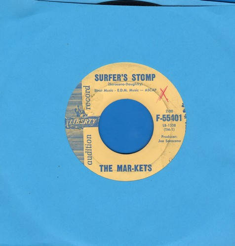 Mar-Kets - Surfer's Stomp/Start (DJ advance pressing) - EX8/ - 45 rpm Records