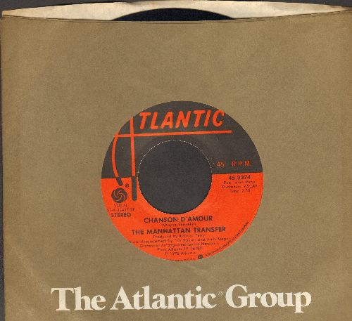Manhatten Transfer - Chanson D'Amour/Popsicle Toes (with Atlantic company sleeve) - NM9/ - 45 rpm Records