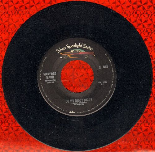 Mann, Manfred - Do Wah Diddy Diddy/Sha La La (double-hit re-issue) - M10/ - 45 rpm Records