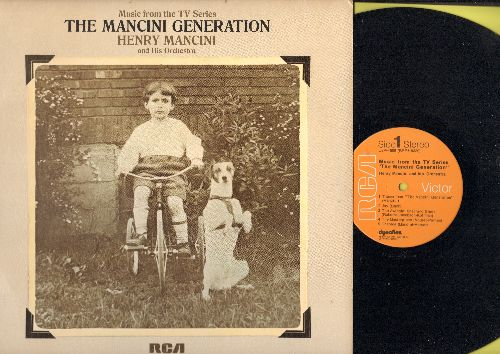 Mancini, Henry & His Orchestra - The Mancini Generation - Music from the TV Series (vinyl STEREO LP record) - NM9/NM9 - LP Records