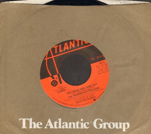 Manhatten Transfer - Boy From New York City/(The Word Of) Confirmation (with Atlantic company sleeve) - NM9/ - 45 rpm Records