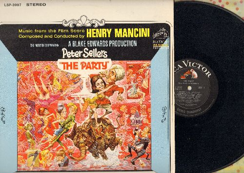 Mancini, Henry - The Party - Original Motion Picture Soundtrack, Music composed and conducted by Henry Mancini (vinyl STEREO LP record) - NM9/EX8 - LP Records