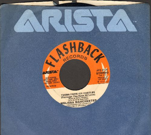 Manchester, Melissa - Theme From Ice Castles/Don't Cry Out Loud (double-hit re-issue with Arista company sleeve) - NM9/ - 45 rpm Records