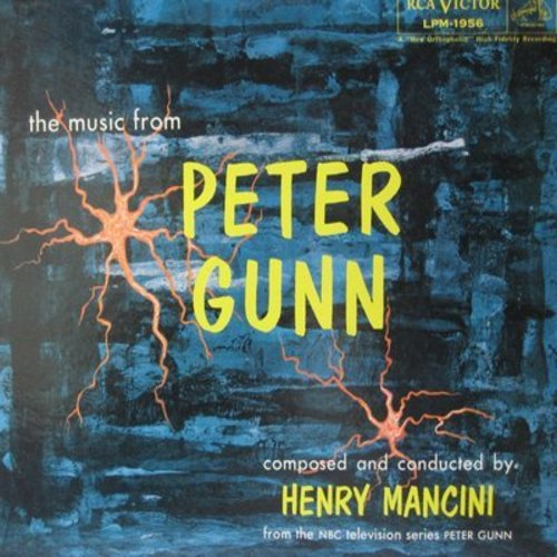 Mancini, Henry & His Orchestra - Peter Gunn - Music from the 1950s TV Drama Series (vinyl MONO LP record, NICE condition!) - NM9/NM9 - LP Records