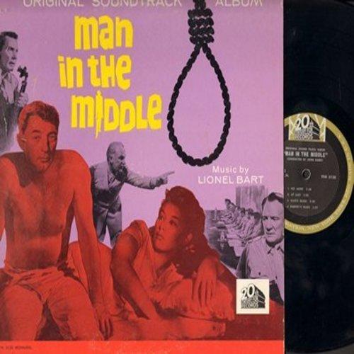 Bart, Lionel - Man In The Middle - Original Soundtrack Album, music by Lionel Bart (vinyl MONO LP record) - M10/EX8 - LP Records