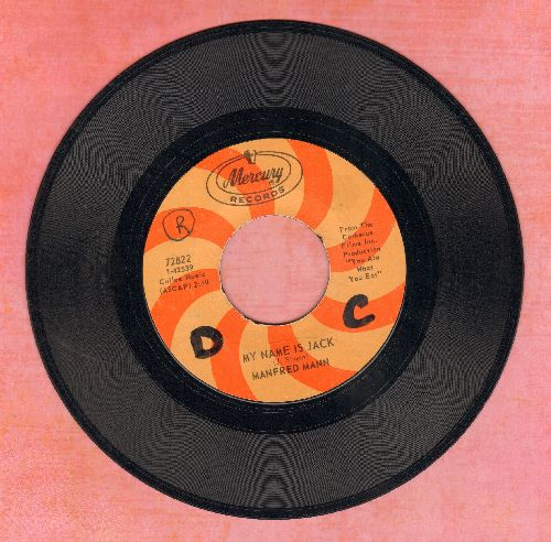 Mann, Manfred - My Name Is Jack/There Is A Man (wol) - VG7/ - 45 rpm Records
