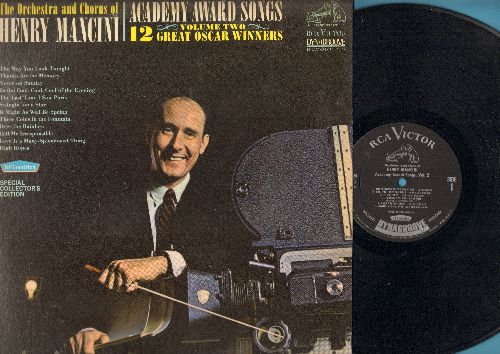 Mancini, Henry & His Orchestra - Academy Award Winning Songs: Moon River, Secret Love, You'll Never Know, Gigi, Que Sera Sera, Mona Lisa, The Continental, When You Wish Upon A Star (vinyl MONO LP record, Dynagroove) - NM9/EX8 - LP Records