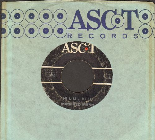 Mann, Manfred - Hi Lili, Hi Lo/She Needs Company (with RARE Ascot company sleeve) - VG6/ - 45 rpm Records
