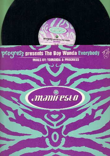 Progress (5) Presents The Boy Wunda - Everybody (Vinyl Maxi LP) - NM9/NM9 - Maxi Singles