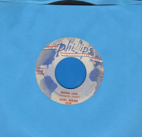 Mann, Carl - Mona Lisa/Foolish One  - EX8/ - 45 rpm Records