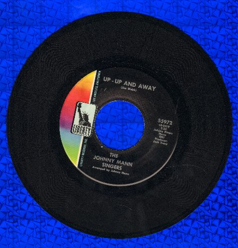 Mann, Johnny Singers - Up-Up And Away/Joey Is The Name - VG7/ - 45 rpm Records