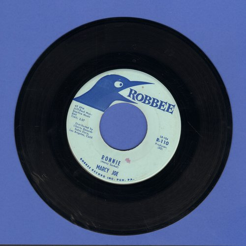 Marcy Jo - Ronnie/My First Mistake (wol) - EX8/ - 45 rpm Records