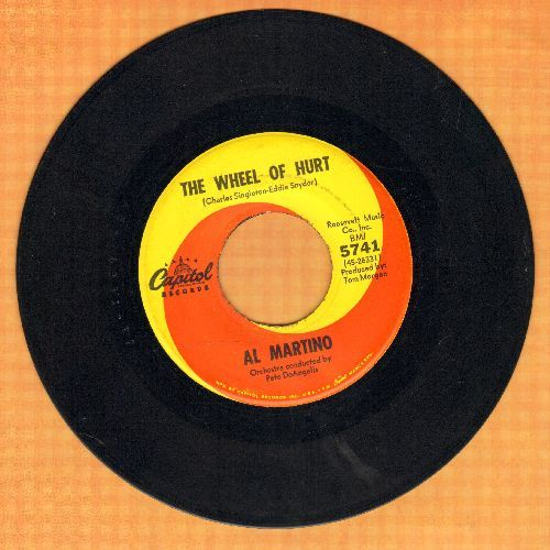 Martino, Al - The Wheel Of Hurt/Somewhere In This World - EX8/ - 45 rpm Records