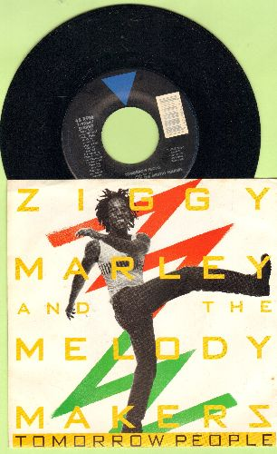 Marley, Ziggy - Tomorrow People/We A Guh Some Weh (with picture sleeve) - NM9/NM9 - 45 rpm Records