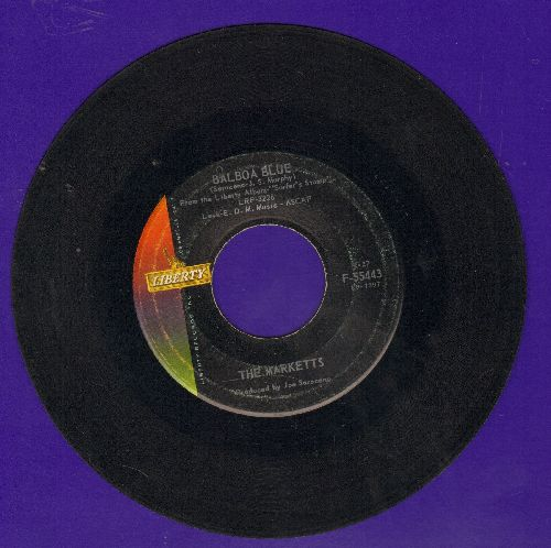 Marketts - Balboa Blue/Stompede - G5/ - 45 rpm Records