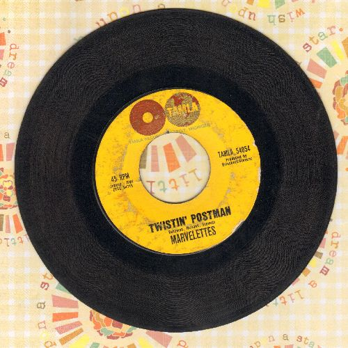 Marvelettes - Twistin' Postman/I Want A Guy (bb) - VG7/ - 45 rpm Records