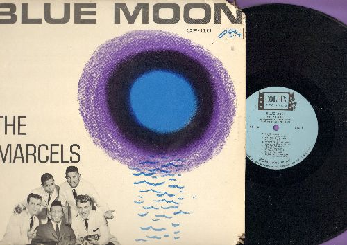 Marcels - Blue Moon: Over The Rainbow, I'll Be Forever Loving You, Sunday Kind Of Love, Crazy Bells (vinyl MONO LP record) - NM9/VG6 - LP Records