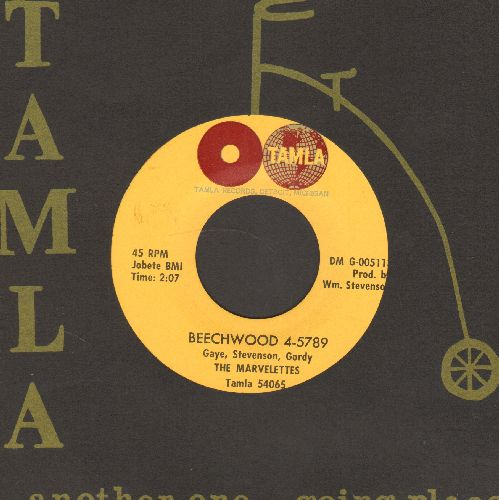 Marvelettes - Beechwood 4-5789/Someday, Someday (NICE condition with RARE Tamla company sleeve) - NM9/ - 45 rpm Records