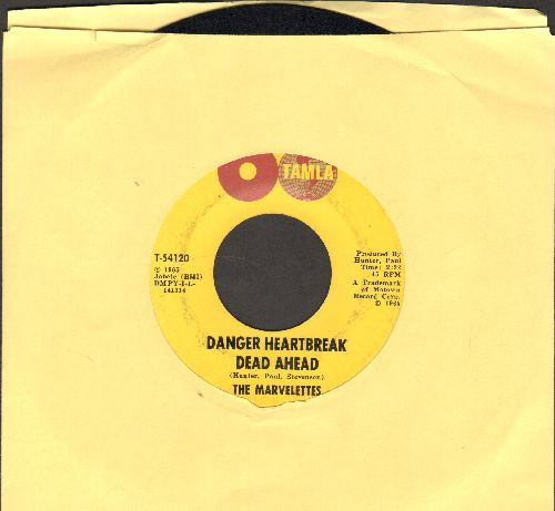 Marvelettes - Danger Heartbreak Dead Ahead/Your Cheating Ways - EX8/ - 45 rpm Records