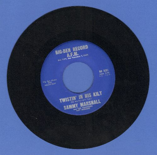 Marshall, Sammy - Twistin' In The Kilt/Honey-Honey - NM9/ - 45 rpm Records
