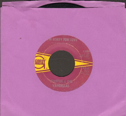 Martha & The Vandellas - I'm Ready For Love/He Doesn't Love Her Anymore - EX8/ - 45 rpm Records