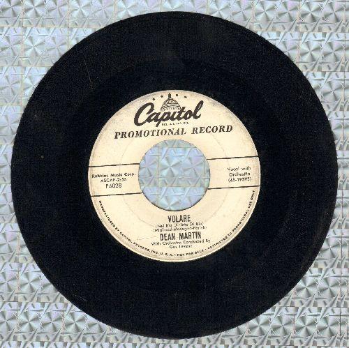 Martin, Dean - Volare/Outta My Mind (DJ advance pressing) - VG7/ - 45 rpm Records