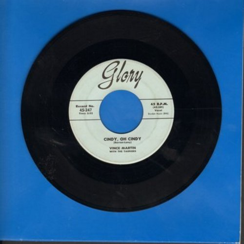 Martin, Vince - Cindy, Oh Cindy/Only If You Praise The Lord (wol/sol) - VG6/ - 45 rpm Records