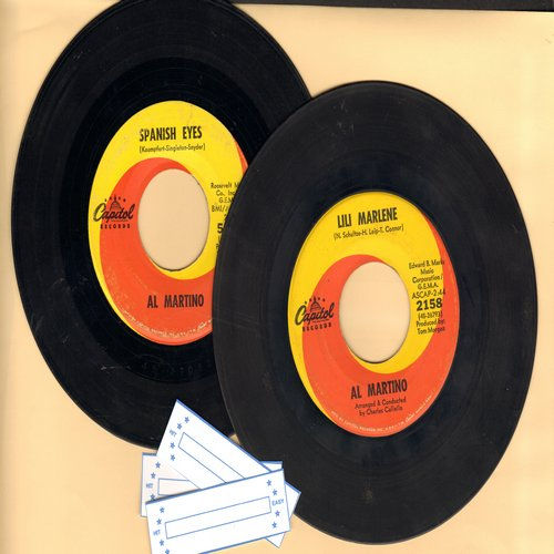 Martino, Al - 2 for 1 Special: Spanish Eyes/Lili Marlene (2 vintage first issue 45rpm records for the price of 1!) - EX8/ - 45 rpm Records