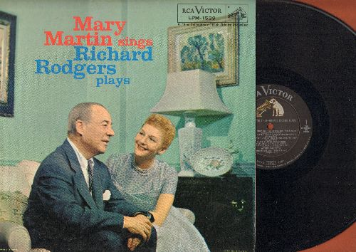 Martin, Mary - Mary Martin Sings-Richard Rodgers Plays: Getting To Know You, My Funny Valentine, Some Enchanted Evening (vinyl MONO LP record) - NM9/EX8 - LP Records