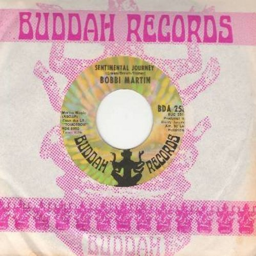 Martin, Bobbi - Sentimental Journey/Towmorrow (with Buddah company sleeve) - NM9/ - 45 rpm Records