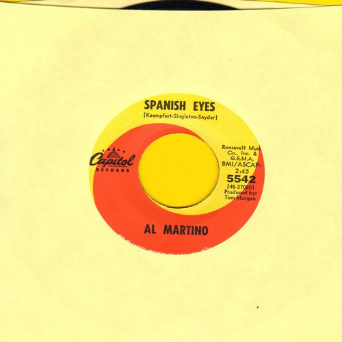 Martino, Al - Spanish Eyes/Melody Of Love (MINT condition!) - M10/ - 45 rpm Records