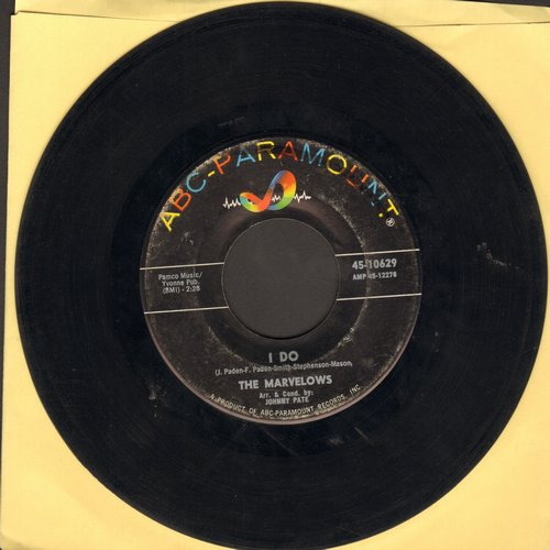 Marvelows - I Do/My Heart - VG7/ - 45 rpm Records