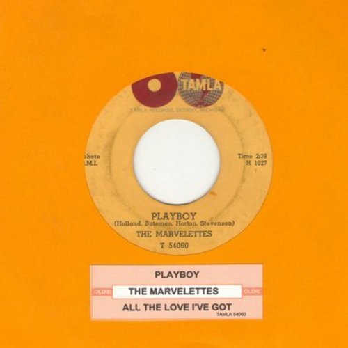 Marvelettes - Playboy/All The Love I've Got (with juke box label)  - EX8/ - 45 rpm Records