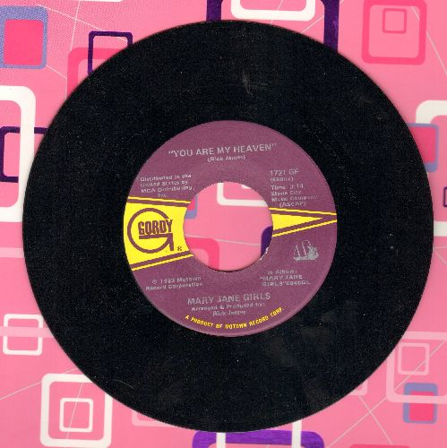 Mary Jane Girls - Jealousy/You Are My Heaven - M10/ - 45 rpm Records