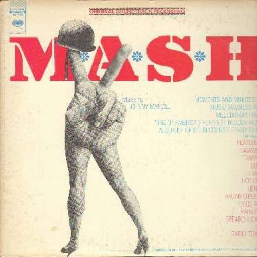 M*A*S*H - M*A*S*H - Original Motion Picture Sound Track featuring Ahmad Jamal's Theme Song -Suicide Is Painless- (vinyl STEREO LP record) - NM9/EX8 - LP Records