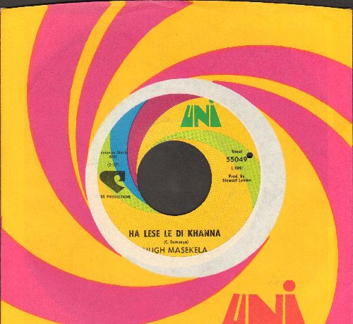 Masekela - Ha Lese Le Di Khanna/There Are Seeds To Sow (with Uni company sleeve)(bb) - EX8/ - 45 rpm Records
