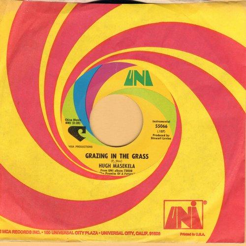 Masekela, Hugh - Grazing In The Grass/Bajabula Bonke (with Uni company sleeve)(bb) - NM9/ - 45 rpm Records