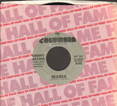 Mathis, Johnny - Maria/Misty (re-issue) - NM9/ - 45 rpm Records