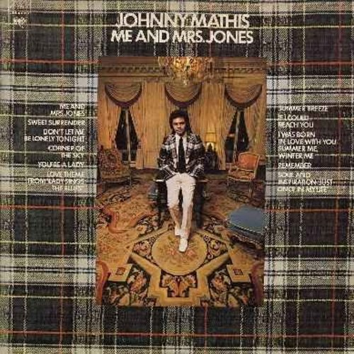 Mathis, Johnny - Me And Mrs. Jones: You're A Lady, Love Theme From -Lady Sings The Blues-, Summer Breeze, Soul And Inspiration/Just Once In My Life, Remember (vinyl STEREO LP record) - NM9/EX8 - LP Records
