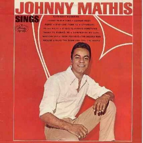 Mathis, Johnny - Johnny Mathis Sings: Eleanor Rigby, Sunny, Somewhere My Love, The Second Time Around, Strangers In The Night (vinyl STEREO LP record) - NM9/EX8 - LP Records