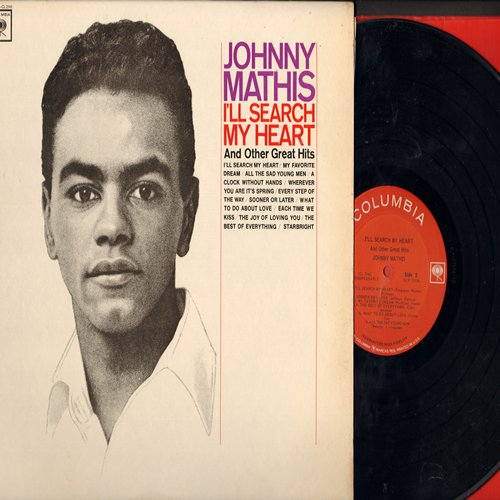 Mathis, Johnny - I'll Search My Heart: Starbright, My Favorite Dream, All The Sad Young Men (vinyl MONO LP record) - EX8/NM9 - LP Records