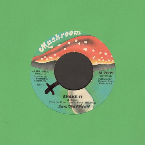 Matthews, Ian - Shake It/Stealin' Home - VG7/ - 45 rpm Records
