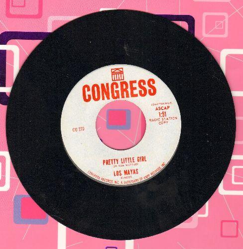 Mayas - Pretty Little Girl/Aruba (DJ advance pressing) - NM9/ - 45 rpm Records