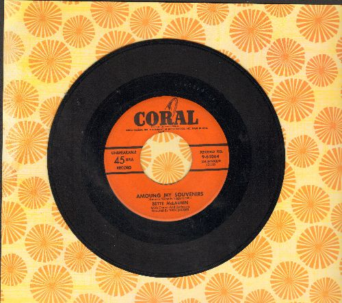 McLaurin, Bette - Amoung My Souvenirs/I Wouldn't Know Where To Begin - EX8/ - 45 rpm Records