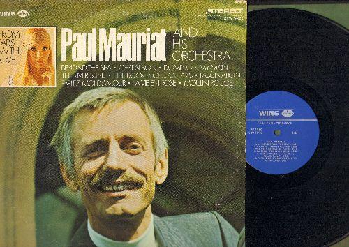 Mauriat, Paul & His Orchestra - From Paris With Love: Beyond The Sea, C'est Si Bon, La Vie En Rose, Moulin Rouge (vinyl STEREO LP record) - NM9/VG7 - LP Records